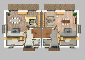 Doppelhaus 170 m² 1