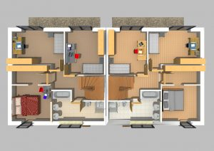 Doppelhaus 170 m² 2