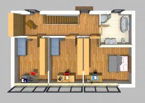 Bauhaus 140 m² 4