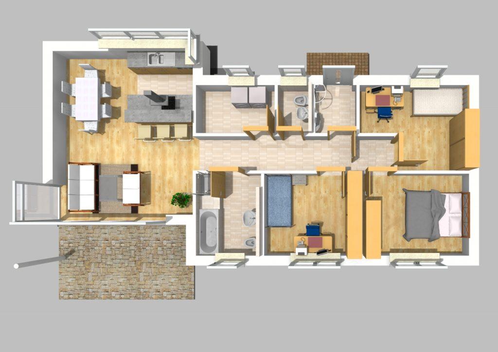 Bungalow 90 m² 2