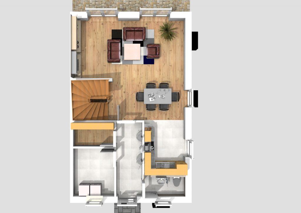 Doppelhaus 120 m² 3