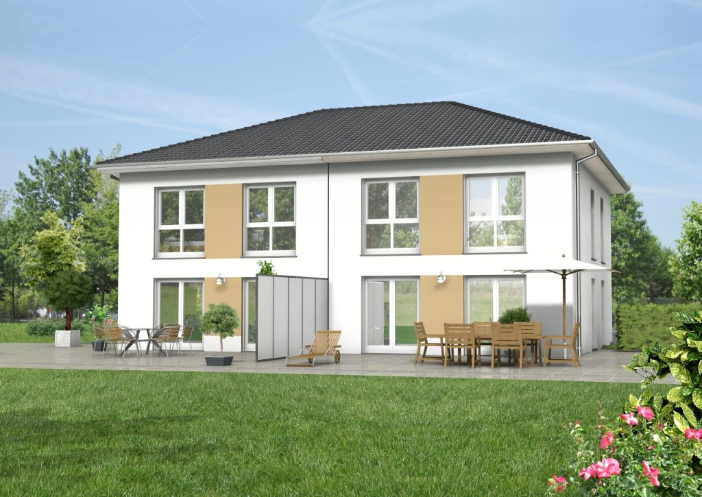 Doppelhaus 120 m² 1