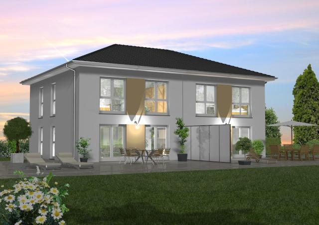 Doppelhaus 120 m² 2
