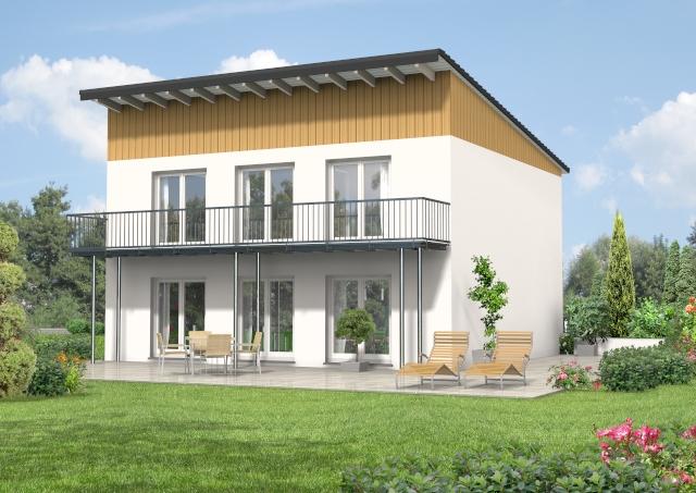 Pultdachhaus 150 m² 1
