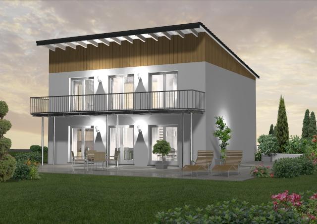 Pultdachhaus 150 m² 2