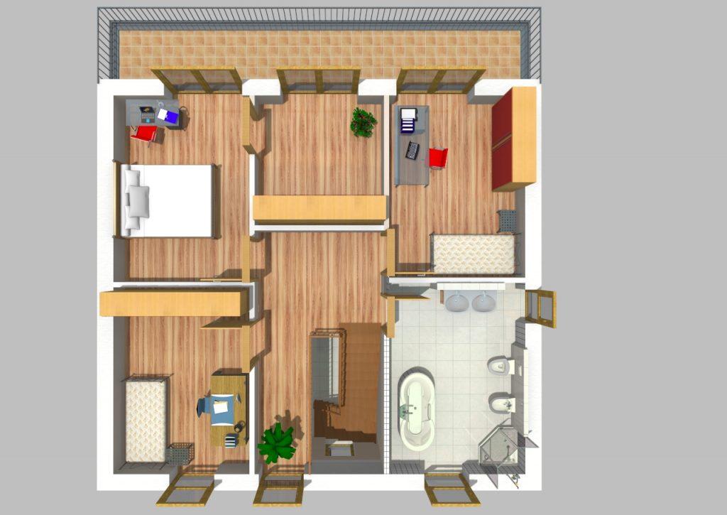 Pultdachhaus 150 m² 4