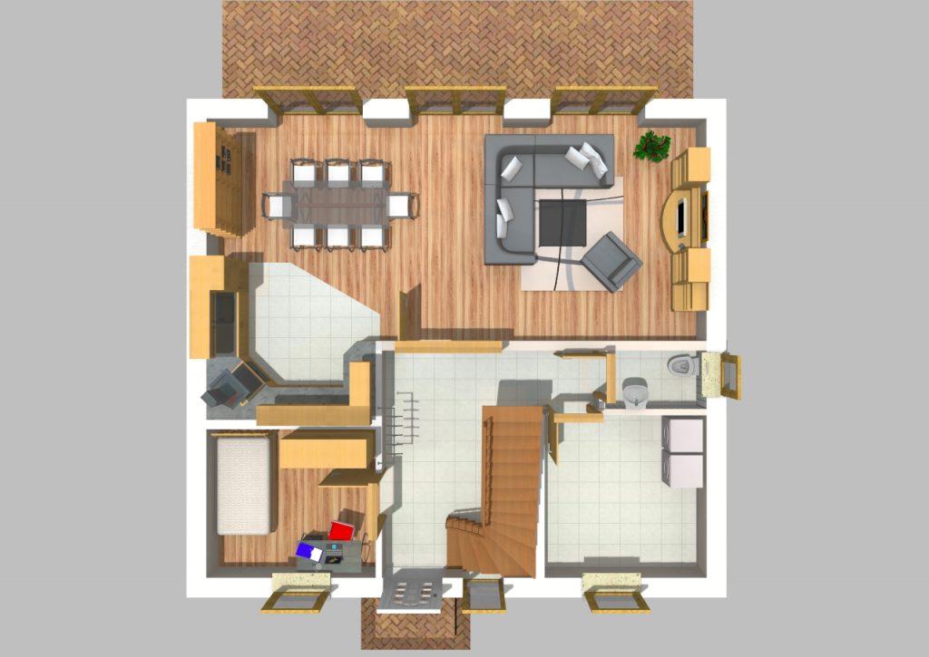 Pultdachhaus 150 m² 3