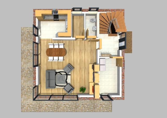 Stadthaus 130 m² 3