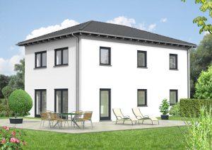 Walmdachhaus 125m²