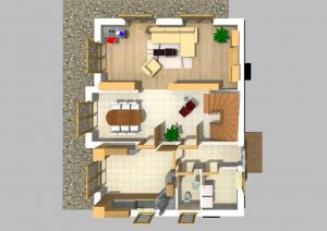 Walmdachhaus 150 m² 1