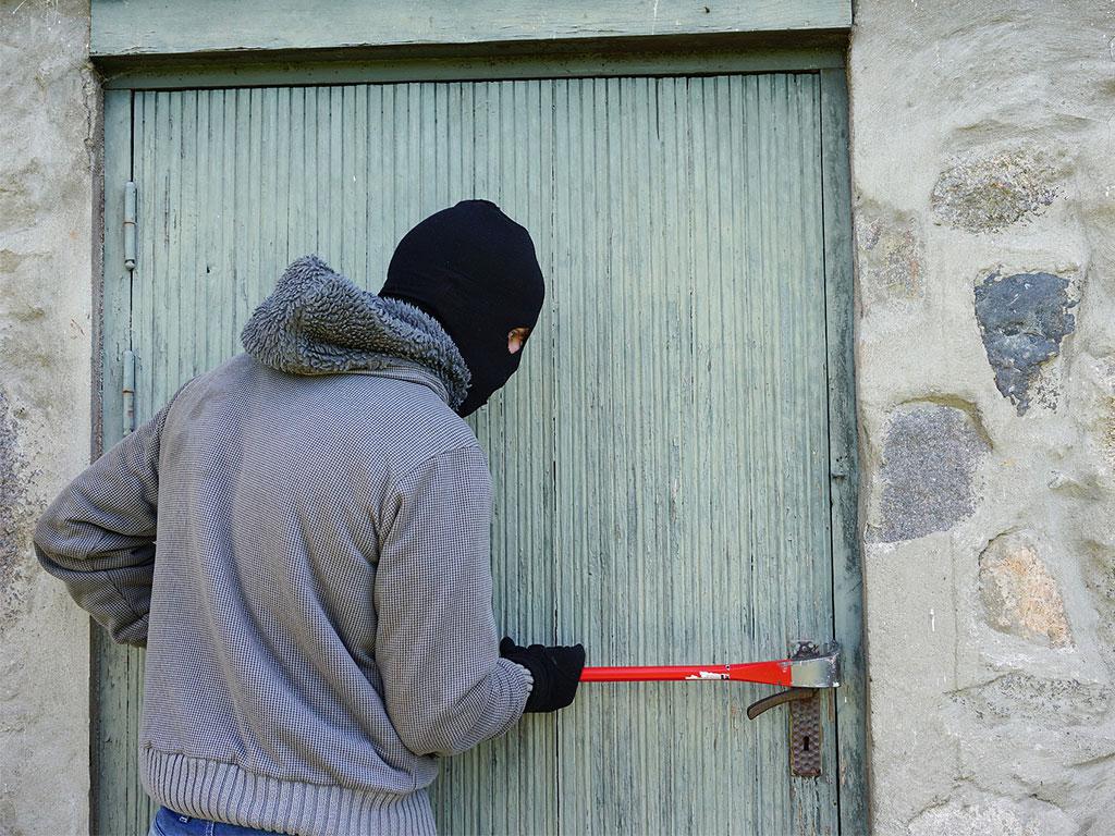 Einbruchschutz beim Hausbau