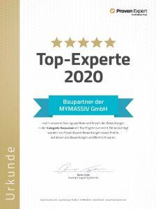 Top Experte Proven Expert 2020